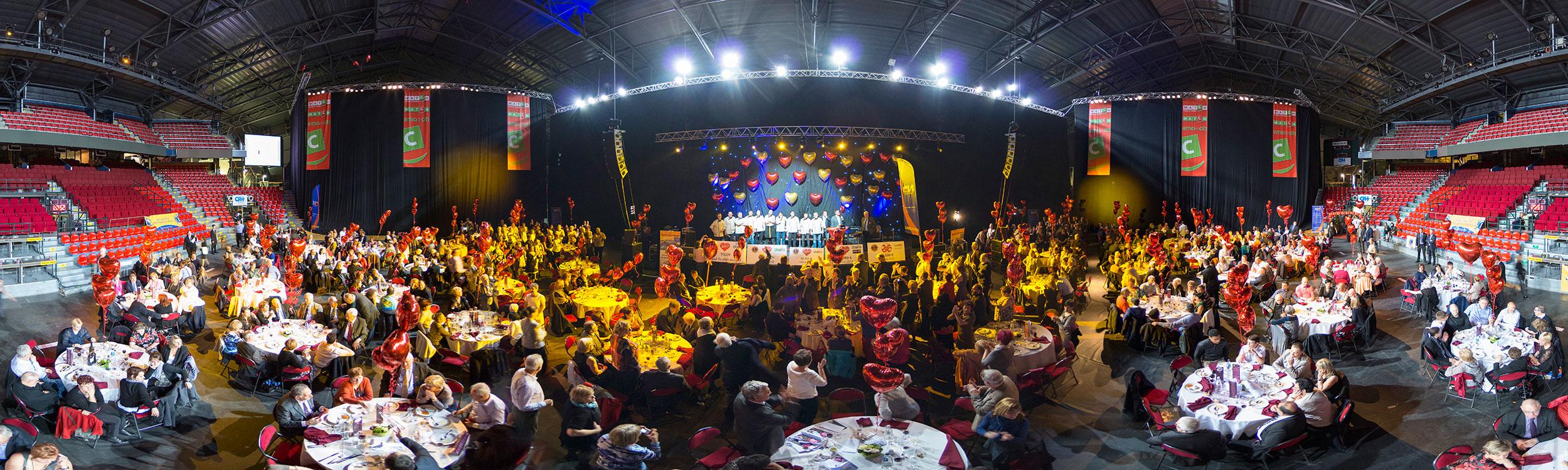 les chefs oeuvrent - service club - Lions - 2014 - Televie