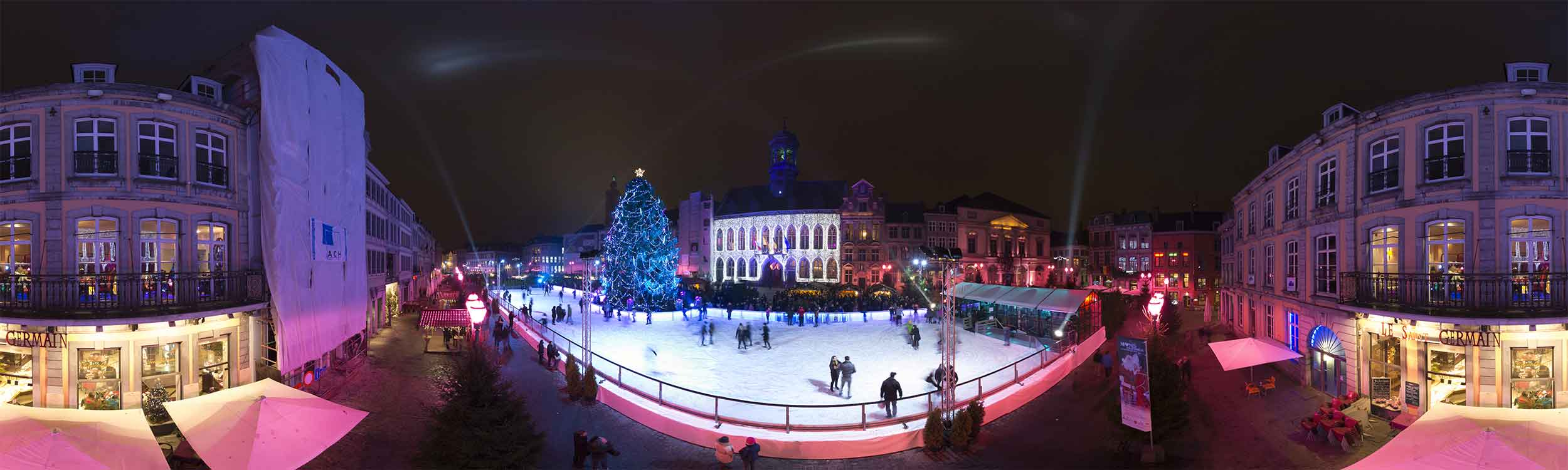 Mons coeur en neige visite virtuelle vue 360